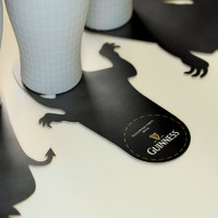 Guinness shadow coasters