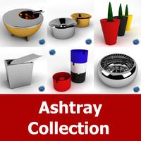 ashtray bauhaus marianne 3d model