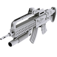 FML Special Assault Rifle with Attachments