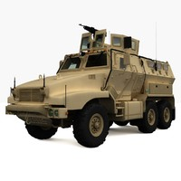 BAE Caiman Armored Vehicle