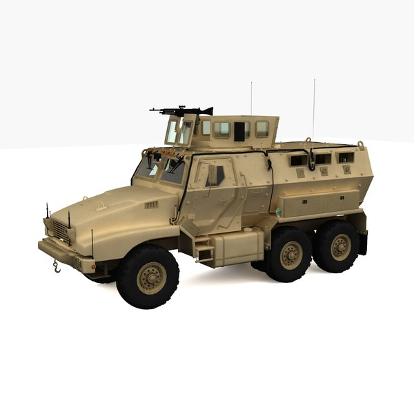3d 3ds bae caiman armored vehicle - BAE Caiman Armored Vehicle... by 3d_molier