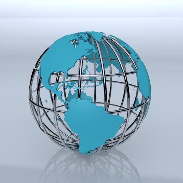 similiar 3d globe model keywords