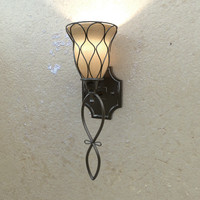 edessa sconce light 3d 3ds