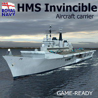 3d hms invincible r05 carrier