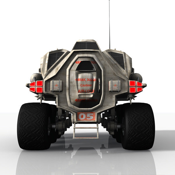moon buggy 3d max - MR5 - Moon Buggy... by MadAboutGames