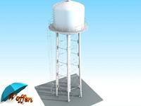 3d water tank