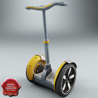 lightwave segway modelled
