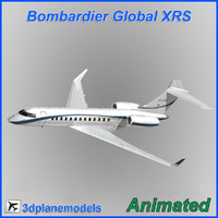 Bombardier Global XRS Private livery 1
