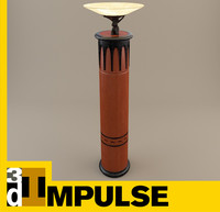 light column 3d model