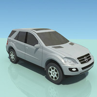 Mercedes ML jeep