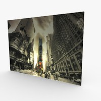 Wall Canvas Art New York Times Square 1