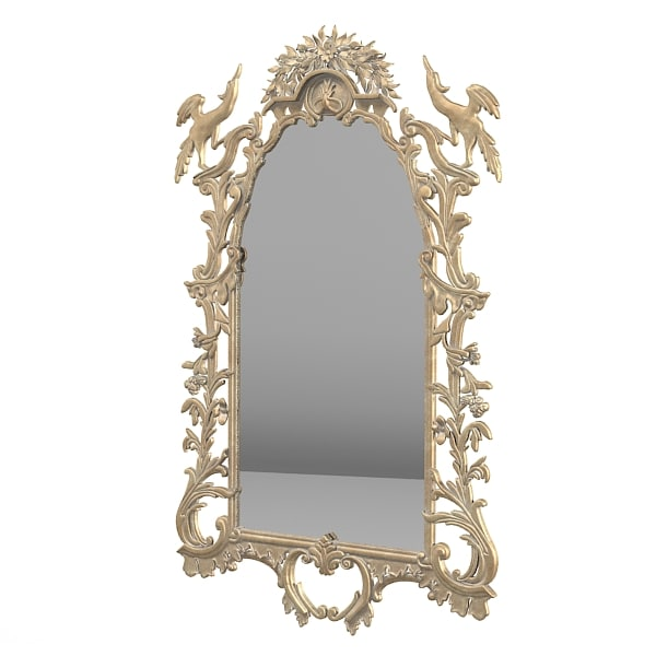 jumbo classic wall mirror baroque wood caving carved rococo.jpg