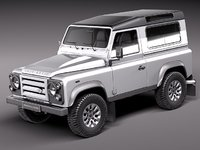 Land Rover Defender 2011 x-tech short