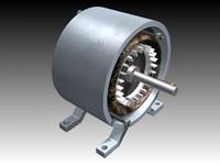 3d asynchronous motor