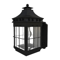 outdoor wall lantern 07 3d obj