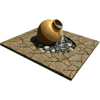 3d model water urn fountain