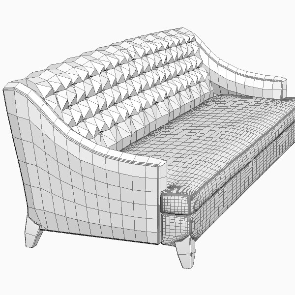 classic sofa max - Classic Sofa... by 3dfurniture
