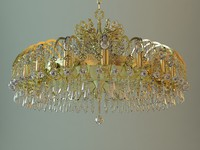 Detailed Antique Chandelier