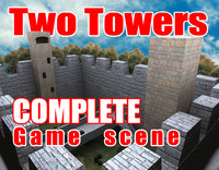 Two Towers Complete Game Scene