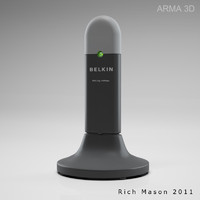 3d belkin wireless adapter model