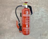 extinguisher 3d c4d