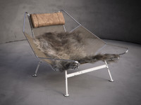 maya chair fur