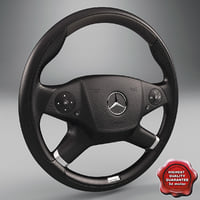 lwo mercedes steering wheel