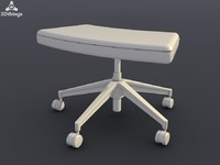 conference chair open mind 3d obj