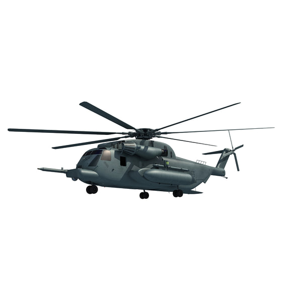 3d model sikorsky navy ch-53e - US Military Aircraft V5... by Gandoza