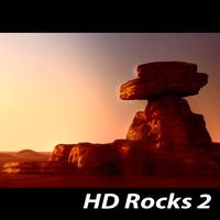 3d model hd rocks