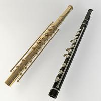 maya flute brass