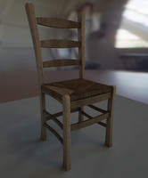 Plain Wooden Chair