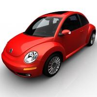 3d model volkswagen beetle r-line