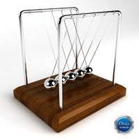 Kinetic Desk Sculpture 1