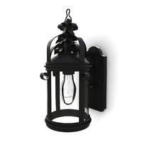 3dsmax outdoor wall lantern 01