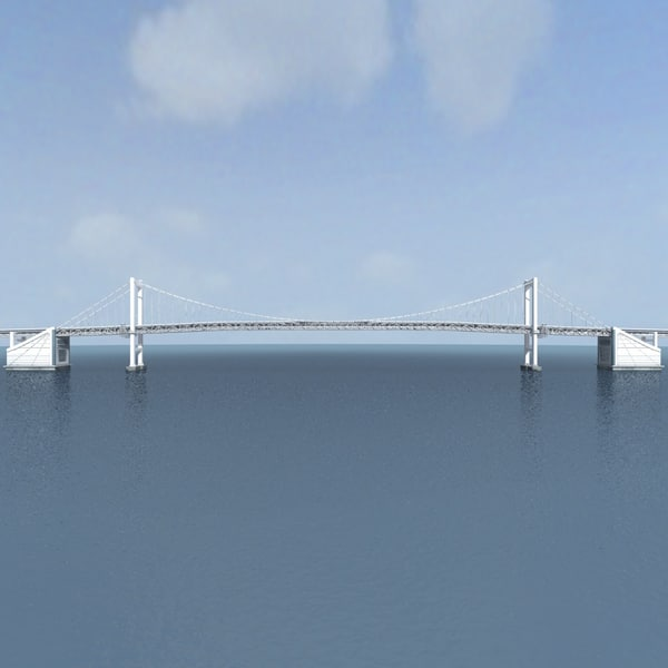 rainbow bridge 3d obj - Rainbow Bridge... by eg_model