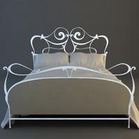 bed details 3d model