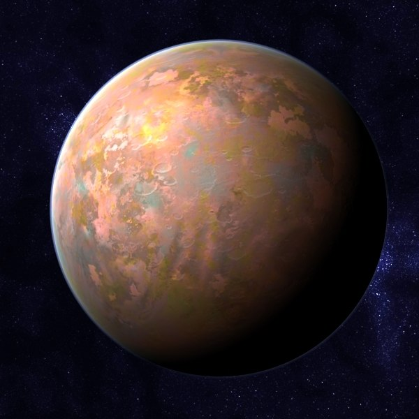 alien planet class h 3d max - Rocky Planet - Class H Planet... by MichaelTaylor3D