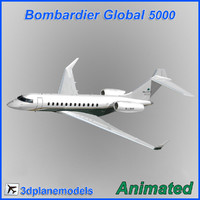 max bombardier global 5000