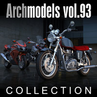 3d archmodels vol 93