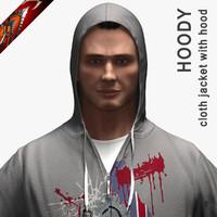 3d hoodie - jacket hood