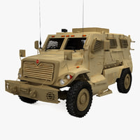 3d maxxpro mrap armoured fighting vehicle