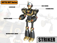 striker robot max
