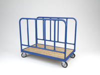 transport trolley c4d