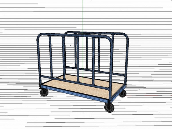 transport trolley c4d - Transport Trolley... by pa_3d