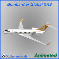 Bombardier Global XRS house livery