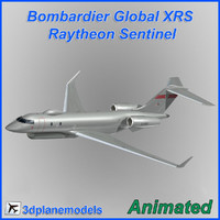raytheon sentinel bombardier global dxf