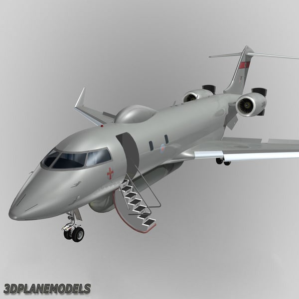 raytheon sentinel bombardier global dxf - Bombardier Global XRS Raytheon Sentinel RAF... by 3Dplanemodels