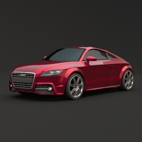3ds max audi tts 2011 restyled