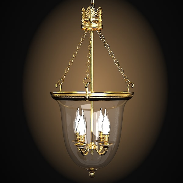 bronze d art 973 classic latern pendant chandelier lamp glass.jpg
